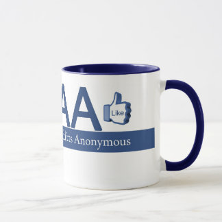 Facebook Addicts Anonymous Mug
