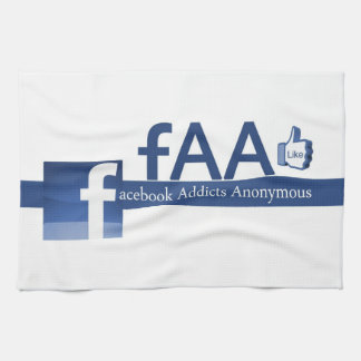 Facebook Addicts Anonymous Towel