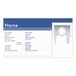 Facebook - Business Business Cards