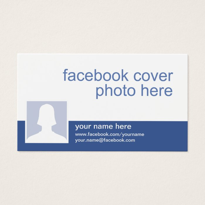 Facebook CC0213 Business Card