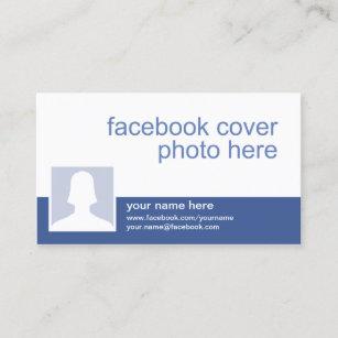 Facebook business cards zazzle facebook cc0213 business card colourmoves
