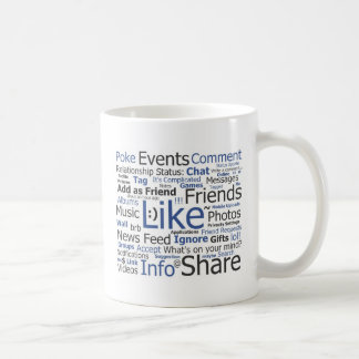 Facebook Coffee Mug