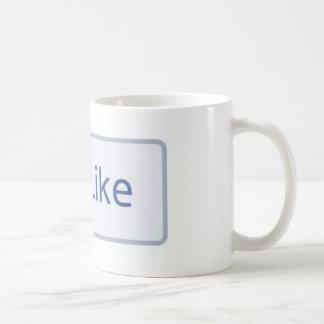 Facebook como la taza