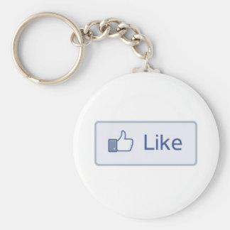 Facebook como llavero