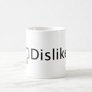 Facebook Dislike. Classic White Coffee Mug