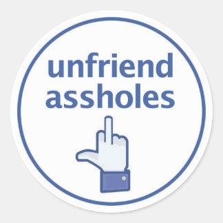 Facebook Finger Sticker