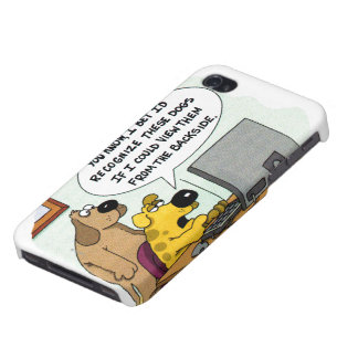 Facebook for Dogs Cases For iPhone 4