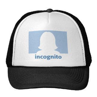 Facebook girl incognito.ai trucker hat