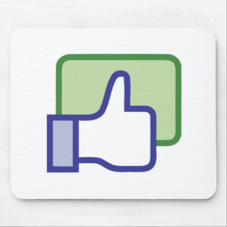 Facebook Like Button Mousepads