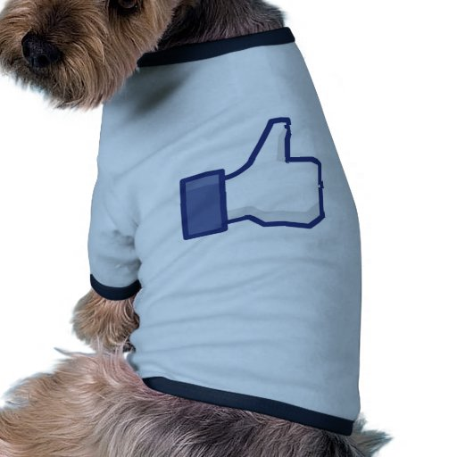 Facebook Like Button Pet Clothing