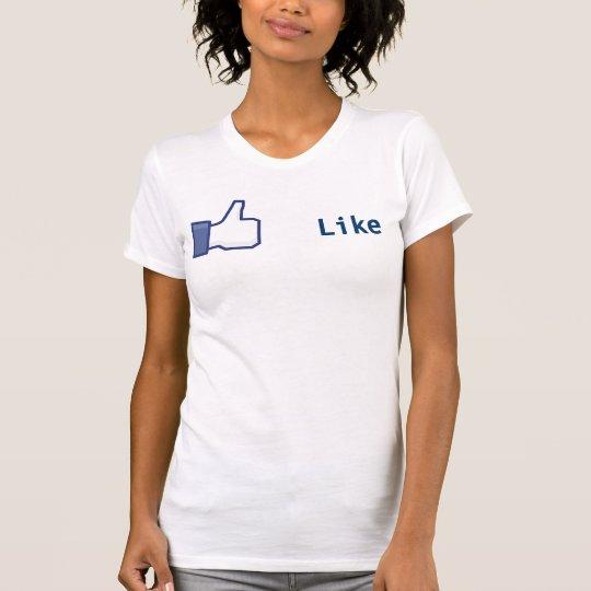 Facebook Like Button shirt