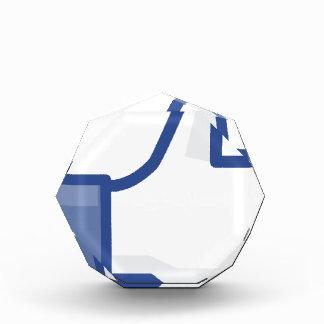 facebook LIKE me thumb up! Acrylic Award