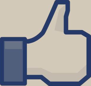 facebook LIKE me thumb up! Baby Bodysuit b05027467