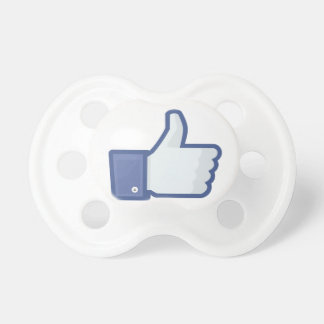 Facebook Like Pacifier BooginHead Pacifier