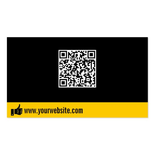 Like QR Code Promotion Business Card