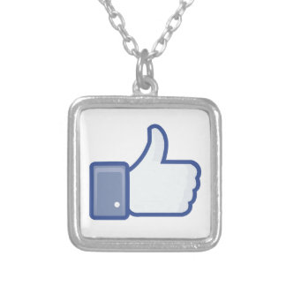 facebook LIKE thumb up icon graphic Pendants