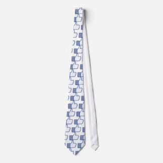 facebook LIKE thumb up icon graphic Tie