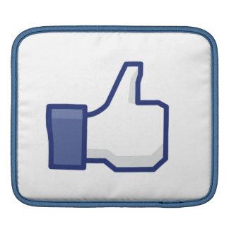 facebook LIKE thumb up iPad sleeve
