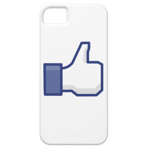 facebook LIKE thumb up iPhone 5 Covers