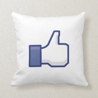 facebook LIKE thumb up pillow cushion