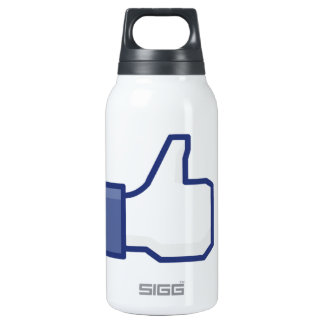 facebook LIKE thumb up Thermos Bottle