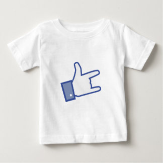 Facebook like You Rock thumb Rock and Roll icon Infant T-shirt
