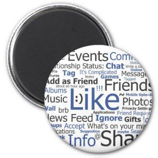 Facebook Magnets