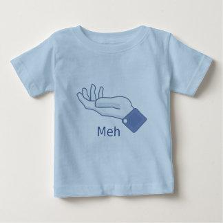Facebook MEH button Baby T-Shirt