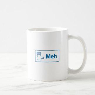 Facebook Meh Coffee Mug