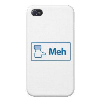 Facebook Meh iPhone 4 Funda