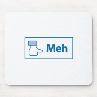Facebook Meh Mouse Pad