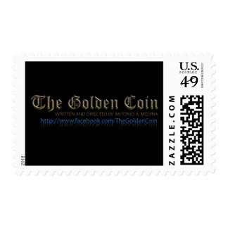 """Facebook page for  """"The Golden Coin"""" Stamp"""