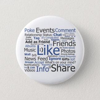 Facebook Pinback Button