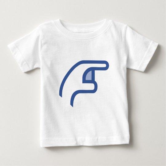 facebook POKE me Baby T-Shirt