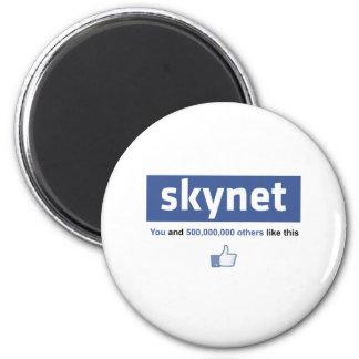 Facebook - Skynet 2 Inch Round Magnet