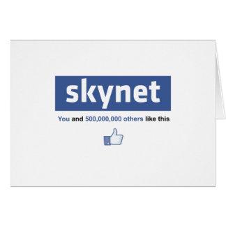 Facebook - Skynet Card