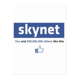 Facebook - Skynet Postcard