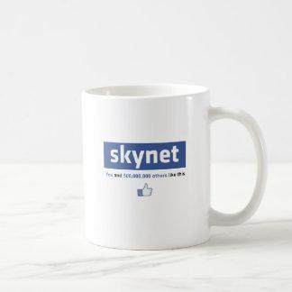 Facebook - Skynet Taza De Café