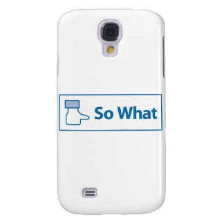 Facebook So What Galaxy S4 Cover
