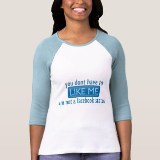 Facebook Status Tee Shirts