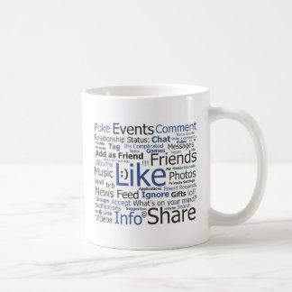 Facebook Taza De Café
