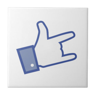 Facebook tiene gusto de usted de oscilar el icono tejas  ceramicas