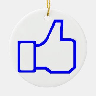 Facebook tiene gusto ornamento de reyes magos