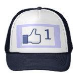 Facebook tiene gusto del gorra del botón