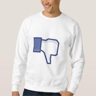 Facebook Unlike Pullover Sweatshirts