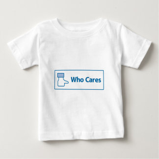 Facebook Who Cares Baby T-Shirt