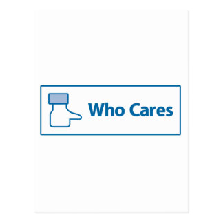Facebook Who Cares Post Cards
