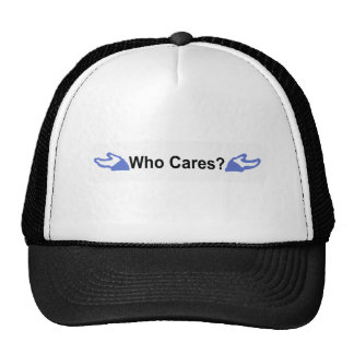 Facebook Who Cares T-Shirt Trucker Hat