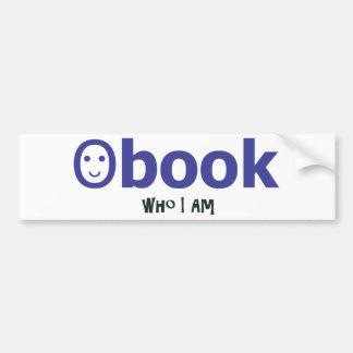 facebook who I am Bumper Sticker