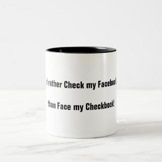 Facebooker Two-Tone Coffee Mug